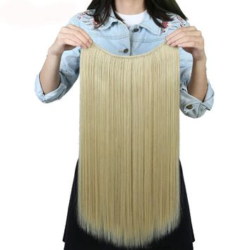 Secret Silky Straight Natural Synthetic Hair Extensions