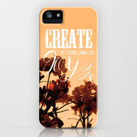 Create your own joy iPhone & iPod Case by Louise Machado
