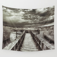 Daimiel.... Wall Tapestry by Guido Montañés