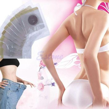 DCCKL72 30Pcs/Set Magnetic Patch Diet Slim Slimming Weight Loss Adhesive Detox Pads Burn Fat