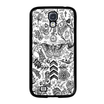 ONE DIRECTION TATTOOS Samsung Galaxy S4 Case