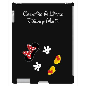 Creating A Little Disney Magic Minnie Mouse iPad 3 and 4 Case