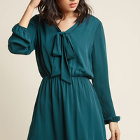 Classy in Session A-Line Work Dress