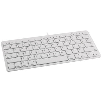 Devicewear Wired Lightning Keyboard (white)