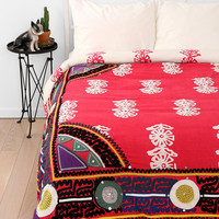 Magical Thinking Embroidered Frame Duvet Cover