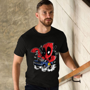 Deadpool Racer T-shirt