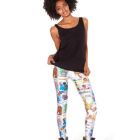 Super Sesame Comic Leggings