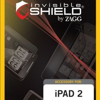 Zagg InvisibleSHIELD for iPad 2 Maximum