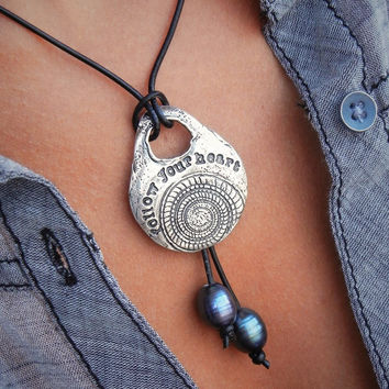 Boho Jewelry Follow Your Heart Necklace