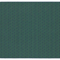 Clara Outdoor Rug, Navy/Green - Backyard Living - Outdoor Essentials - Outdoor | One Kings Lane