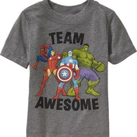 Old Navy Marvel Comics Super Hero Tees For Baby