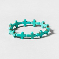 Cross Stretch Bracelet  | Claire's