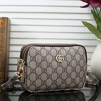 LV Louis Vuitton GUCCI Fashionable Women Shopping Leather Shoulder Bag Crossbody Satchel