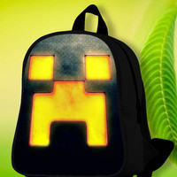 Minecraft Creeper SchoolBags.