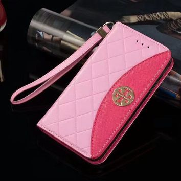 Tory Burch Phone Cover Case For Samsung Galaxy s8 s8Plus note 8 iphone 6 6s 6plus 6s-plus 7 7plus 8 8plus X-2