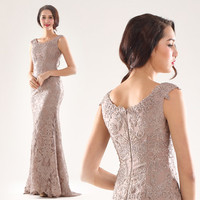 Beautiful Fitted vintage Mink Lace Tall Mother of the Bride Dress 2016 | EC71848A, View mother of the bride dresses, Chaozhou Choiyes Evening Dress Product Details from Chaozhou Choiyes Evening Dress Co., Ltd. on Alibaba.com