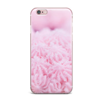 "Debbra Obertanec ""Cupcake Pink"" Sparkle iPhone Case"