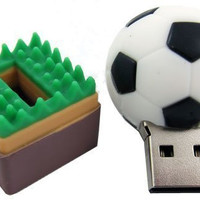 8G Soccer Ball Memory Stick Drive Pen Drive Disk Cute Catoon Sport Ball Football Shape by E&A