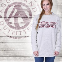 TEXAS A&M DOUBLE BAR WOOLLY - Tops - Womens