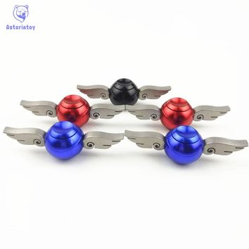 1PCS Generation 2 Hand Spinner Cupid wing Golden Snitch Harry Potter Fans Spinner Hand EDC ADHD Copper Fidget top spinner