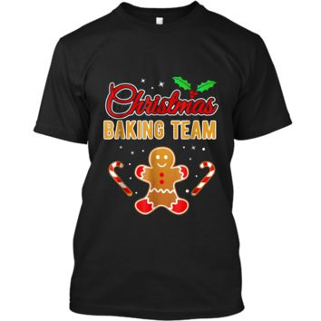 Christmas Baking Team Gingerbread Man  Custom Ultra Cotton