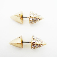 Spike Double Earrings