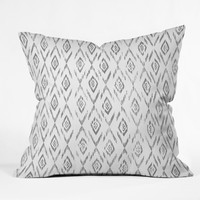 Stay In Bed Throw Pillow Rosebudstudio