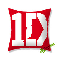 1D Logo Square Pillow Cover