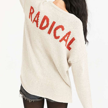 BDG Radical Drop-Shoulder Pullover Sweater - Urban Outfitters