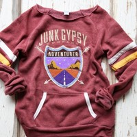 JG ADVENTURER SWEATSHIRT - Junk GYpSy co.