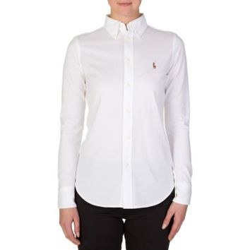 Polo Ralph Lauren White Oxford Shirt