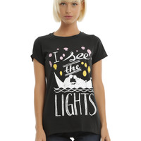 Disney Tangled I See The Lights Girls T-Shirt