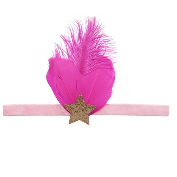 Mae Child's Feather Headband