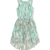 H&M Patterned Chiffon Dress $24.99