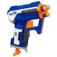 NERF N-STRIKE ELITE TRIAD EX-3 Blaster | Outdoor Games for ages 8 YEARS & UP | Hasbro