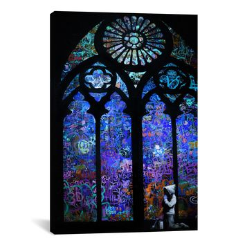 Banksy STAINED GLASS WINDOW II