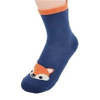 FunShop Woman's Koala Fox and Raccoon Pattern Cotton Ankel Socks in 3 Colors Fox