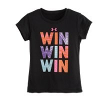 Under Armour Girls Toddler UA Win T-Shirt