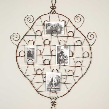 Brimfield Wire Wall Photo Holder - SET OF 2 - *FREE SHIPPING*