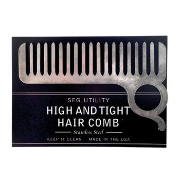 High and Tight Hair Comb