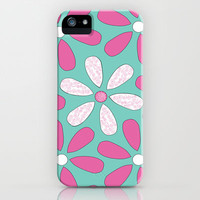 Flower Pattern iPhone Case by Little_Biscuit | Society6
