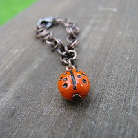 Doll Ladybug Necklace for Blythe &  Pullip Dolls.