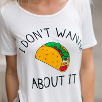 Taco About It Tee