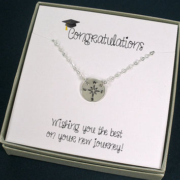 Graduation Gift Compass Necklace High School Graduation College Graduation New Job Gift  sc 1 st  Wanelo & Infinity Bracelet for your Best Friend from StarringYou Jewelry