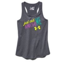 Under Armour Girls' UA Just Call Me Awesome Tank