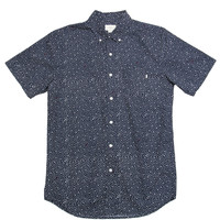 Obey - Journey Woven S/S Button-Up Shirt (Navy)