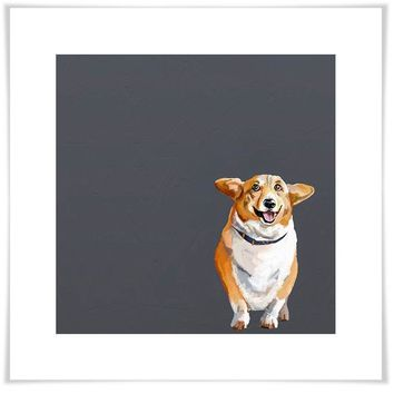 Best Friend - Corgi Wall Art