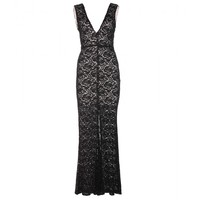 alice + olivia - mia lace dress