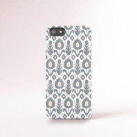 Ikat iPhone 6 Case Tribal iPhone 6 Plus Case Turkish Kilim iPhone 5 Case Samsung Galaxy S5 Case Grey iPhone Case Gray iPhone Case