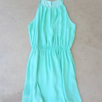 Sweet Spring Dress in Mint [7119] - $34.00 : Feminine, Bohemian, & Vintage Inspired Clothing at Affordable Prices, deloom